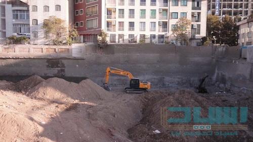 پروژه اجرای نیلینگ فرمانیه